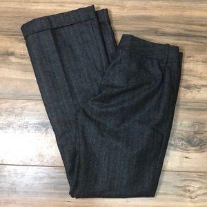 Antonio Melani sz 4 blue pinstriped pants